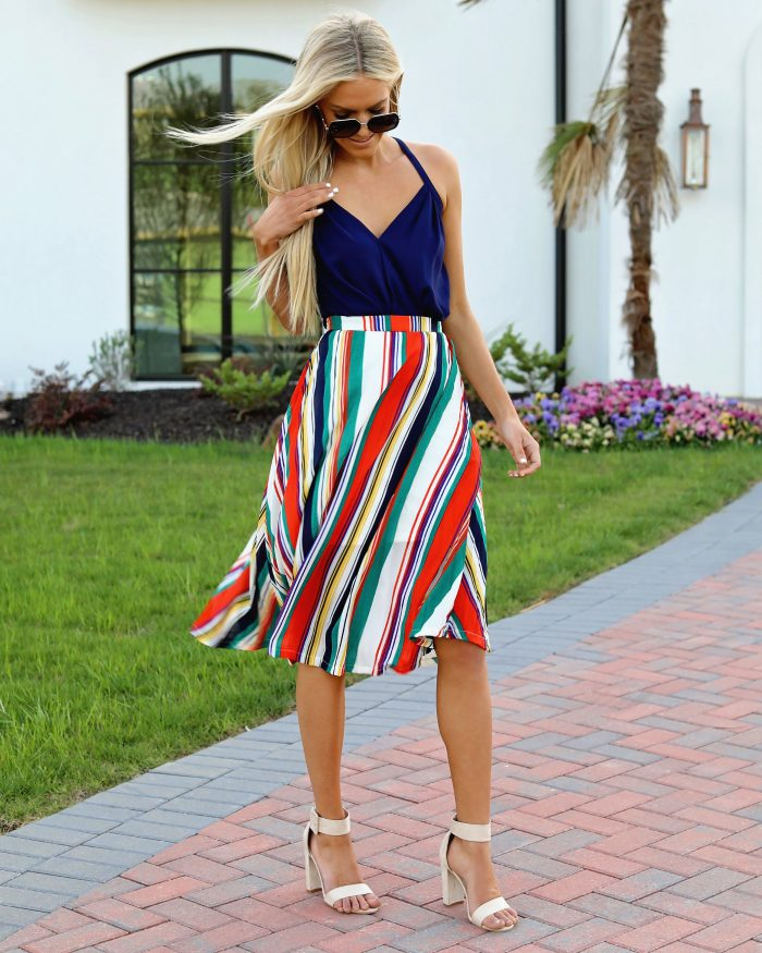 2018 Midi Skirts For Women Best Looks To Copy (1)