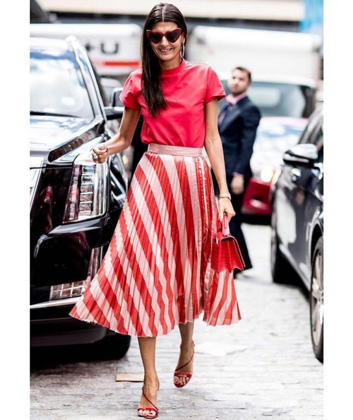 2018 Midi Skirts For Women Best Looks To Copy (14)
