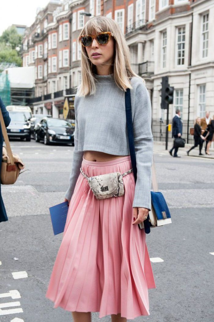 2018 Midi Skirts For Women Best Looks To Copy (18)