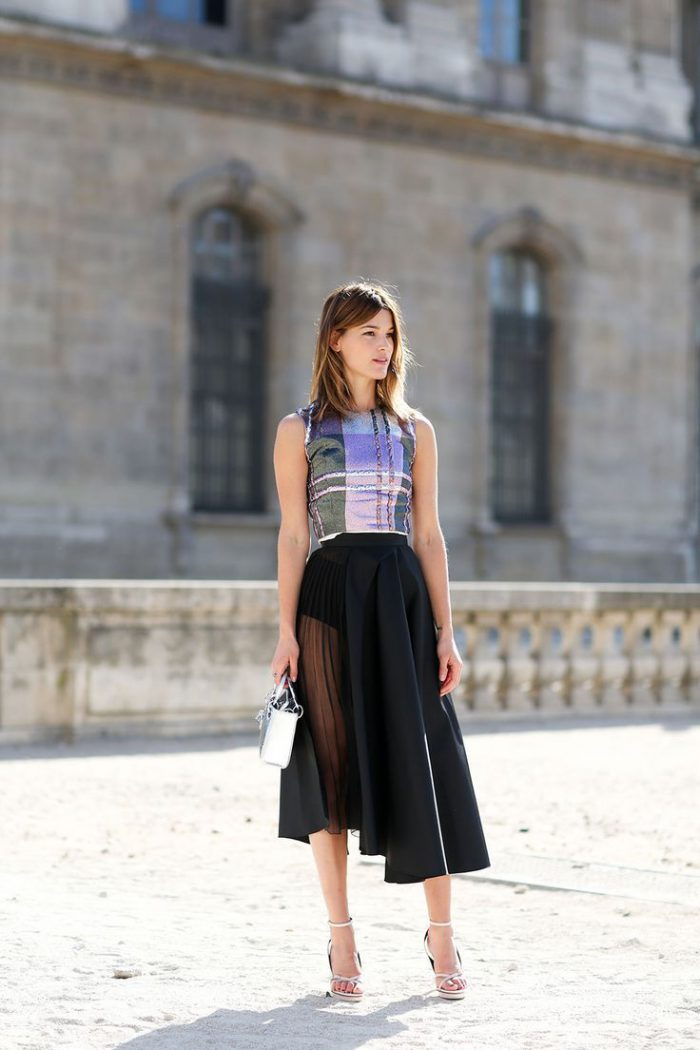 2018 Midi Skirts For Women Best Looks To Copy (34)