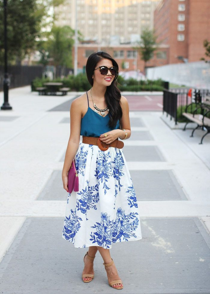 2018 Midi Skirts For Women Best Looks To Copy (35)