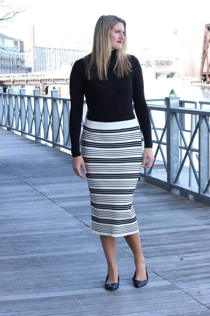 How to Wear Midi Skirts 2019