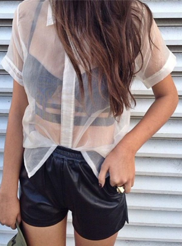 Summer Sheer Clothes For Women 2020
