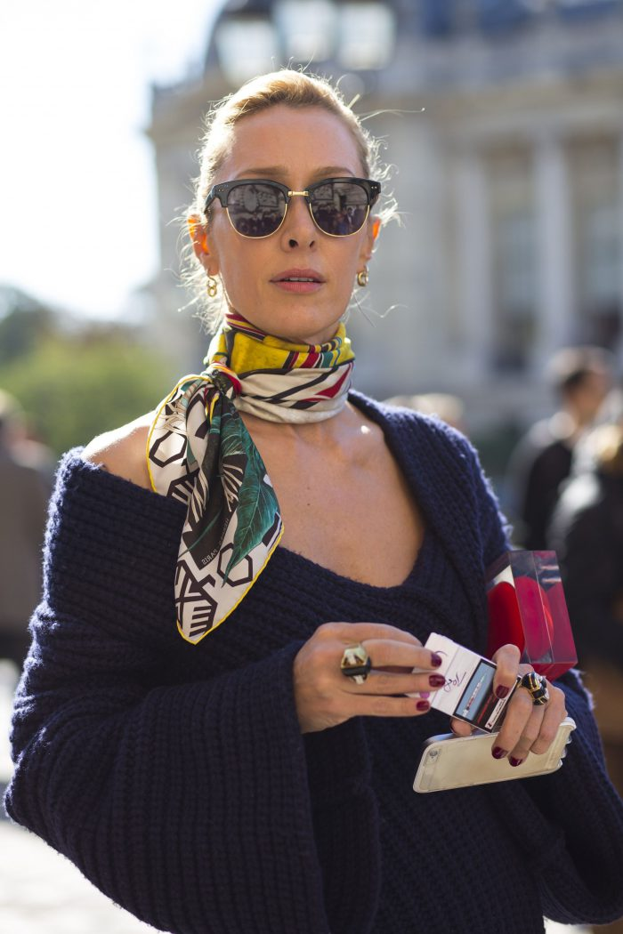 How to Wear Silk Scarves This Summer 2020