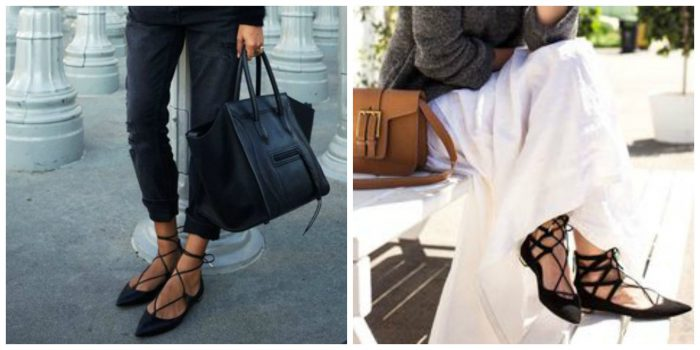 How to Wear Lace Up Flats This Summer And Stay Cool 2019