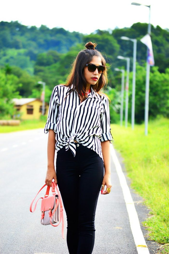 2018 Summer Stripes Print For Women Best Outfit Ideas (29)