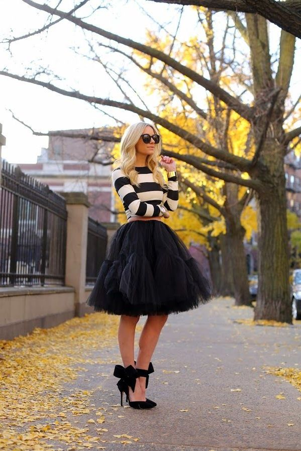 27 Ways To Wear Tulle Skirts on the Streets 2019