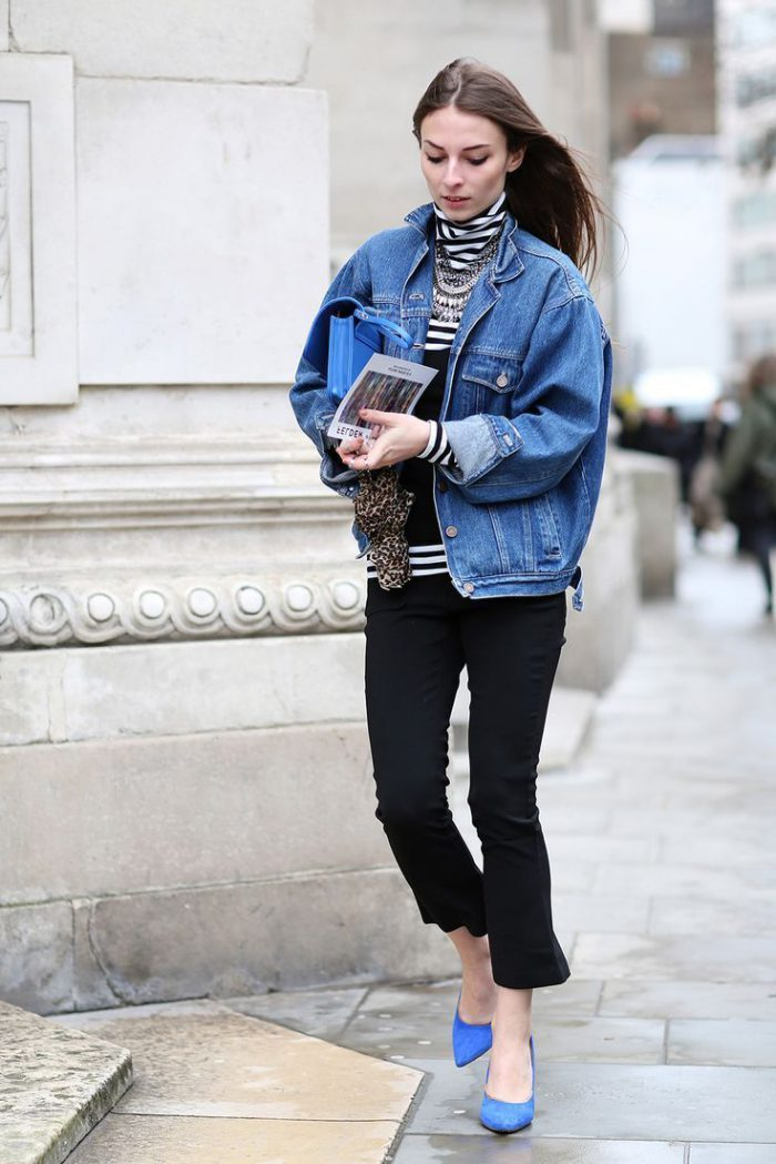 Denim Jackets Street Style Looks To Copy This Year (1)