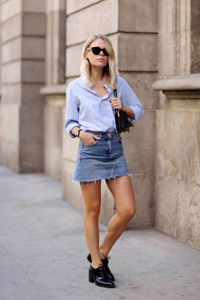 How To Make A Denim Skirt Look Awesome 2020