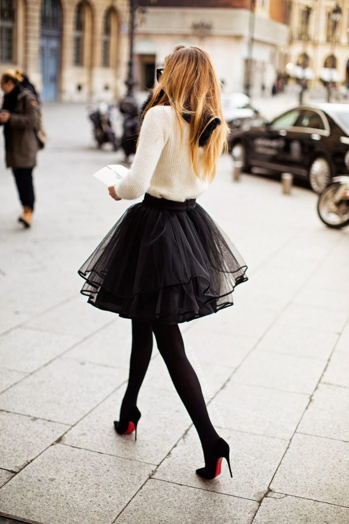 Flared Skirts Street Style Looks To Copy (13)
