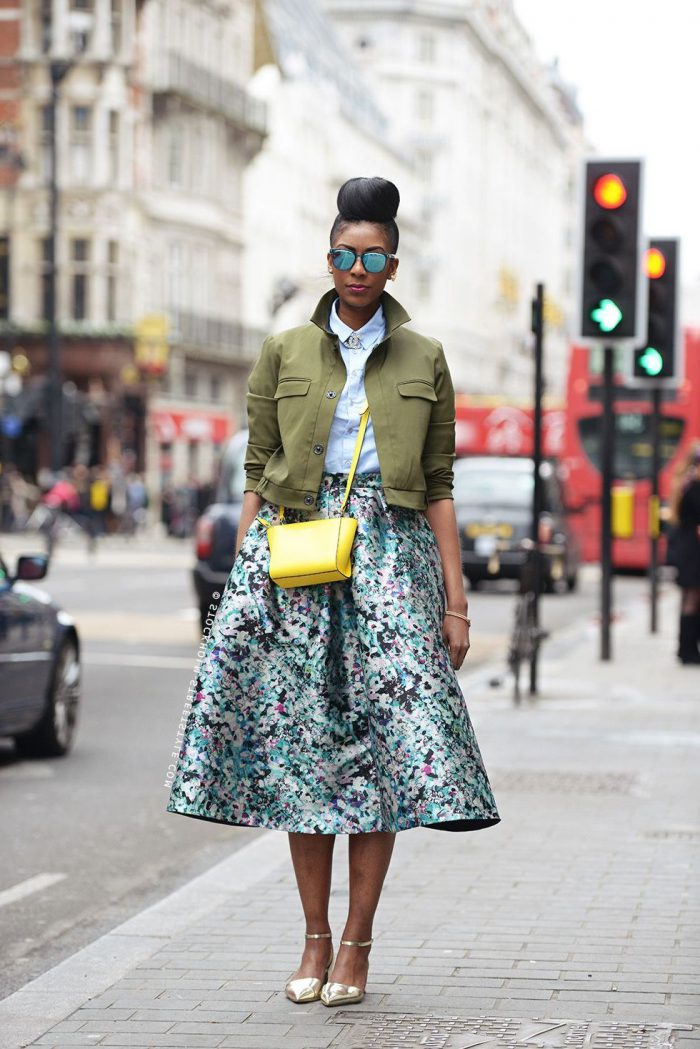 Flared Skirts Street Style Looks To Copy (2)