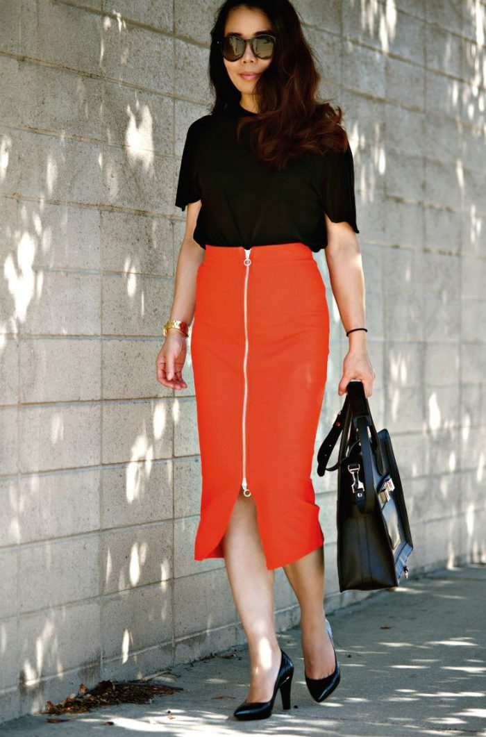 High Waisted Skirts Best OOTD Ideas 2020
