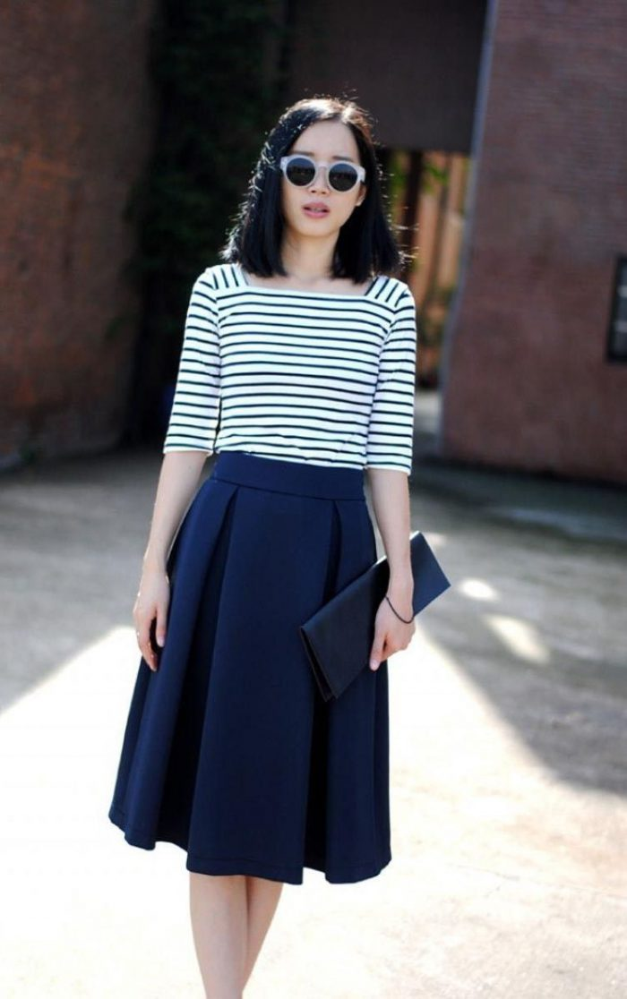 High Waisted Skirts Best OOTD Ideas 2019