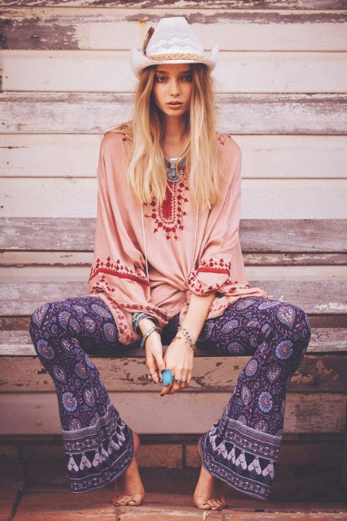 How To Create Perfect Boho Chic Look Street Style (12)