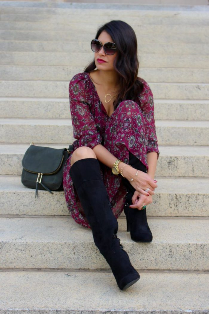 How To Create Perfect Boho Chic Look Street Style (13)