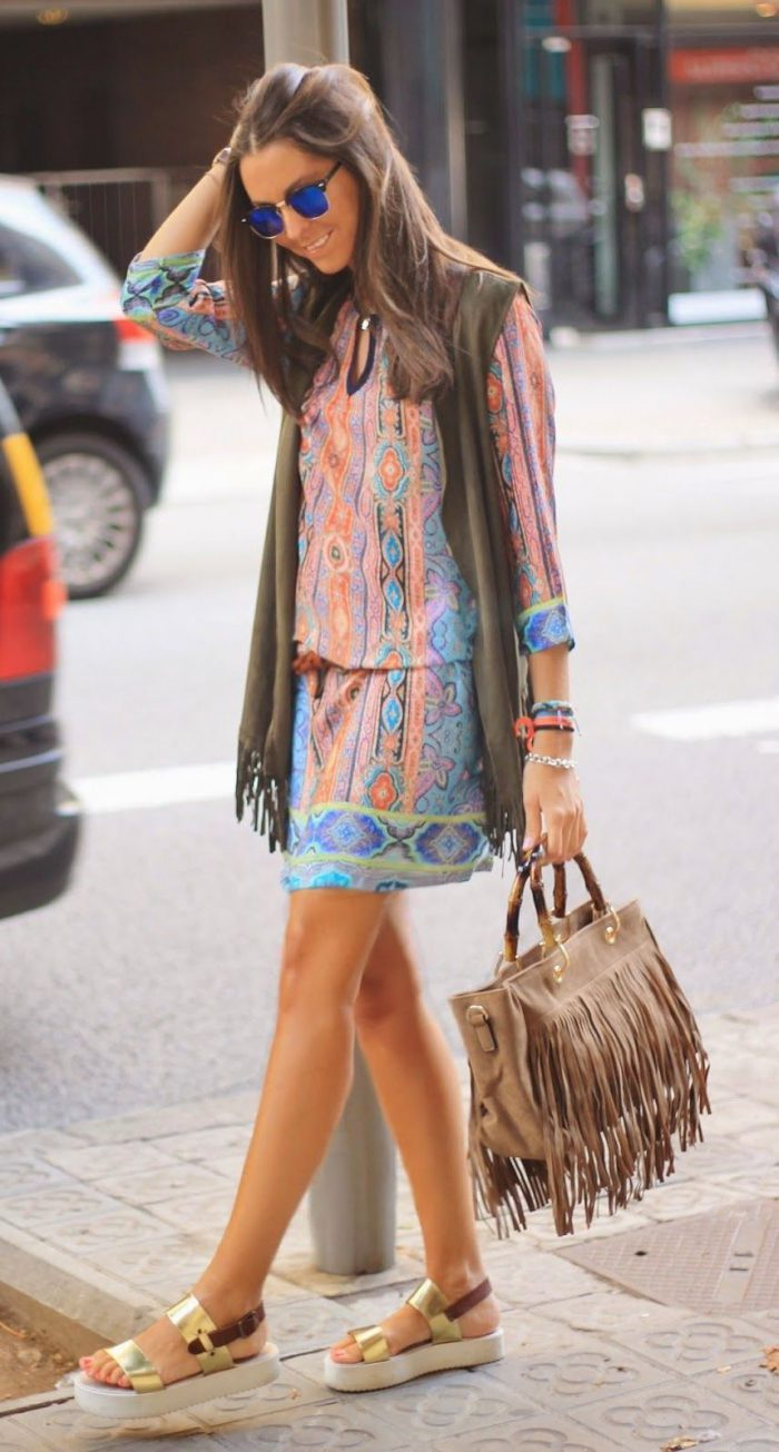 How To Create Perfect Boho Chic Look Street Style (6)