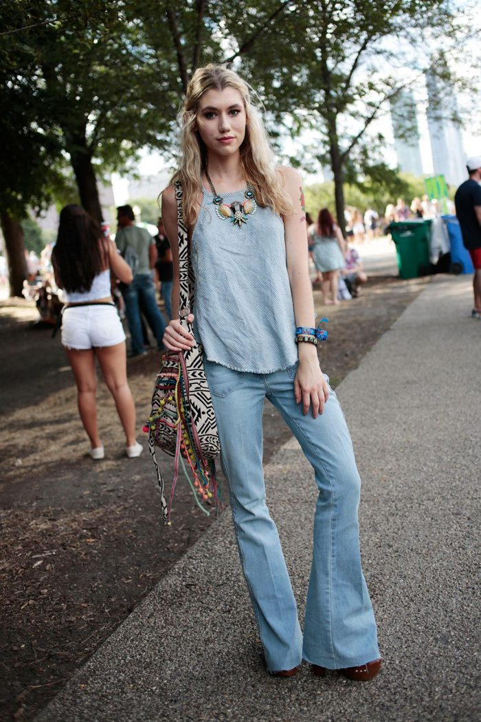 How To Create Perfect Boho Chic Look Street Style (9)