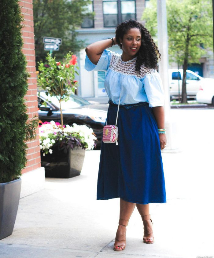 How Should I Style Blue Skirt 2021