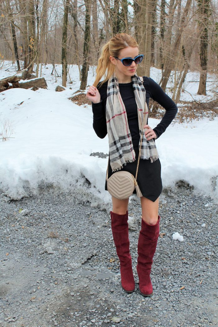 How To Wear Knee High Boots Best Outfit Ideas (16)
