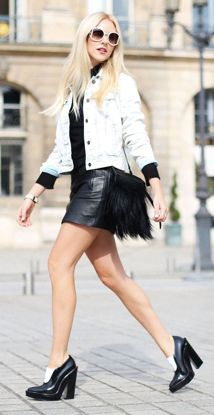 How To Wear Mini Skirt To Look Perfect And Ladylike (15)