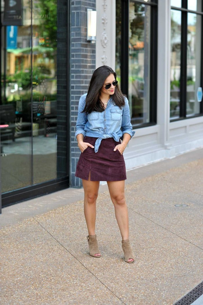 How To Wear Mini Skirt Now 2019
