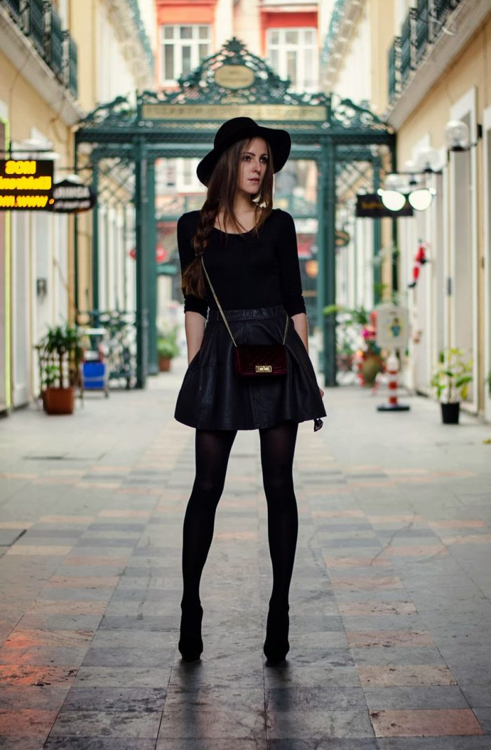 How To Wear Tights This Year Street Style (1)
