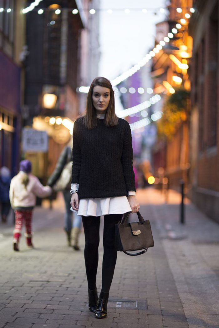 How To Wear Tights This Year Street Style (10)