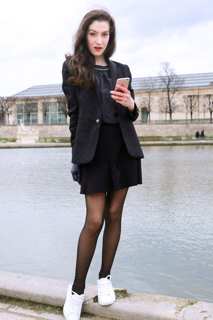 How To Wear Tights This Year Street Style (15)