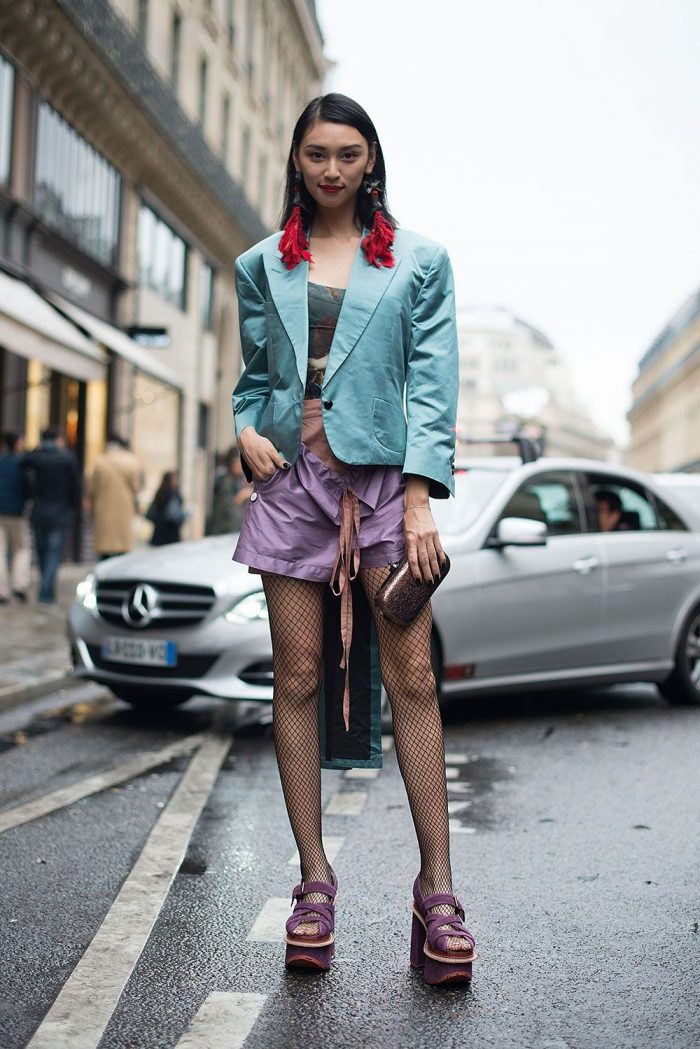 How To Wear Tights This Year Street Style (5)