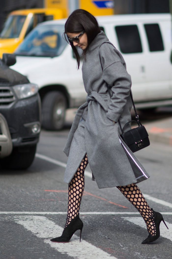 How To Wear Tights This Year Street Style (8)