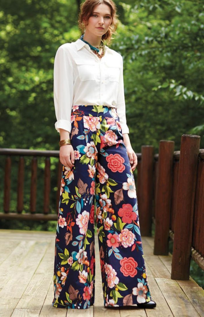 15 Ways To Wear Wide Leg Pants 2021
