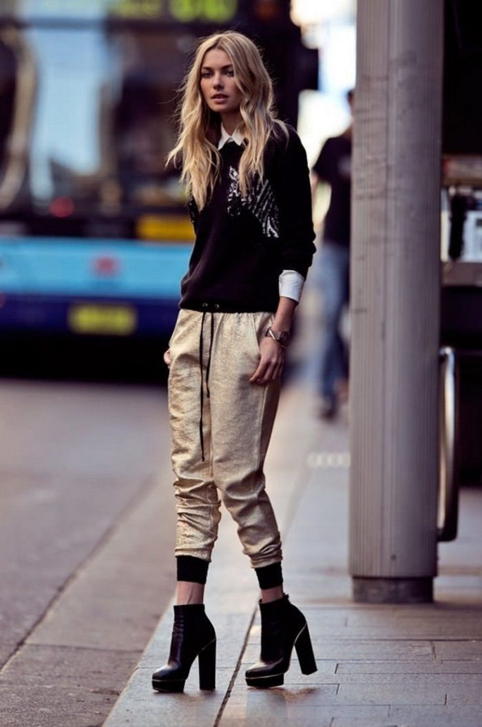 Jogger Pants Street Style Looks For Women 2019