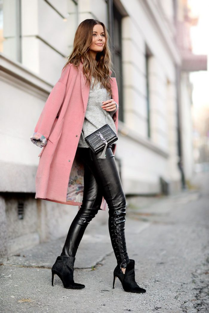 Leather Pants For Women Inspiring Combinations (1)