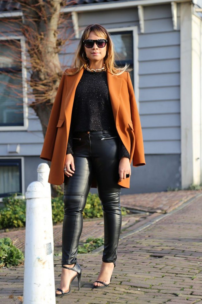 What Goes With Leather Pants 2019