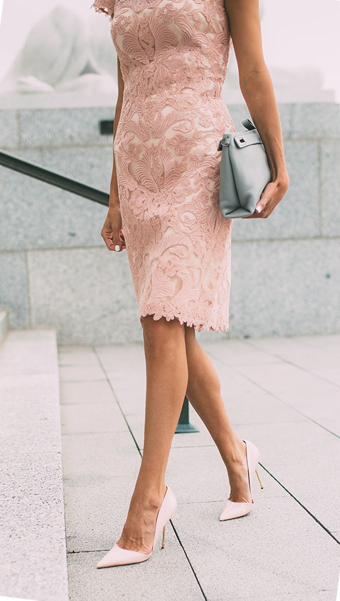 With What Shoes To Wear Pink Dresses 2019