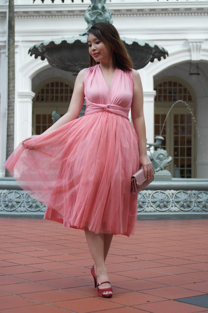 7c526f039a8 With What Shoes To Wear Pink Dresses 2019 - FashionMakesTrends.com