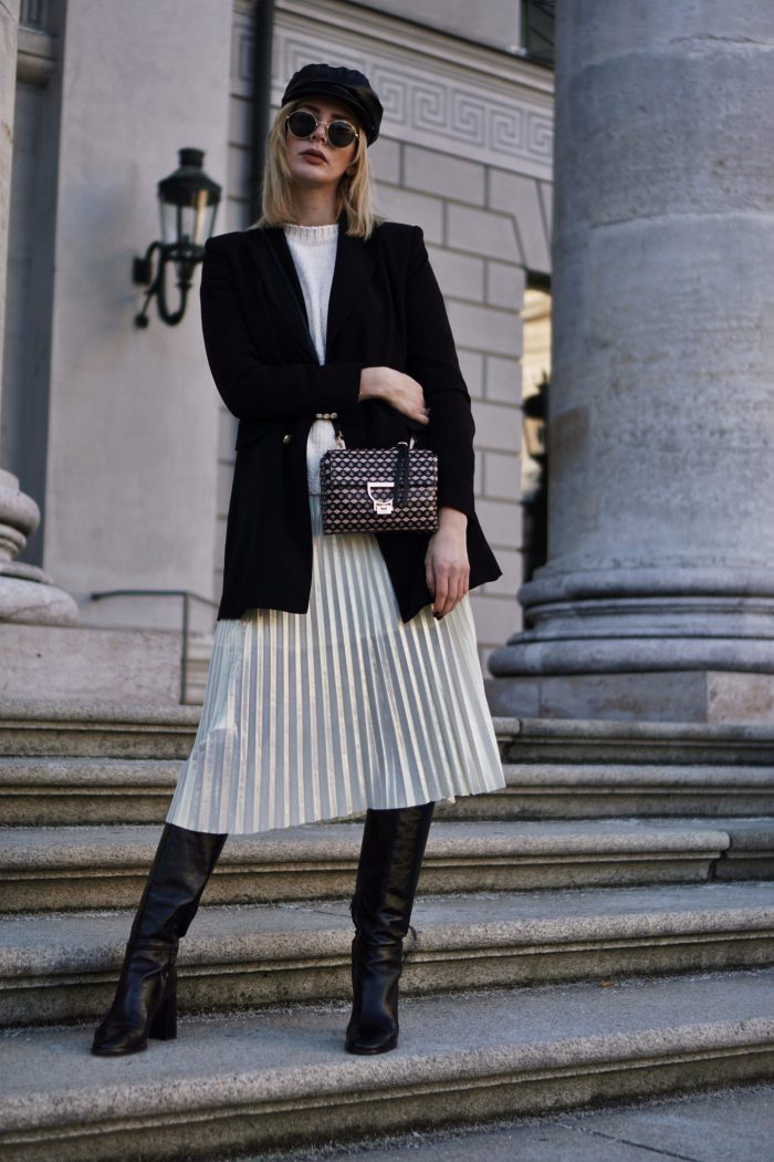 Pleated Skirts Simple Outfit Ideas To Try Now 2020
