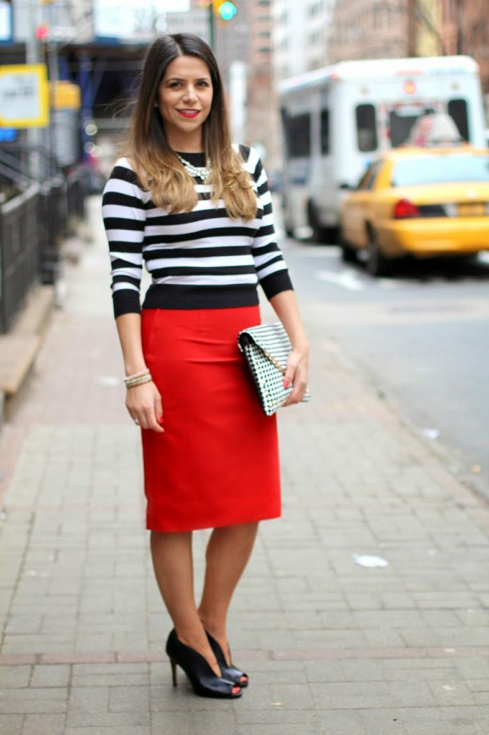 Best Red Skirts Outfit Ideas 2020