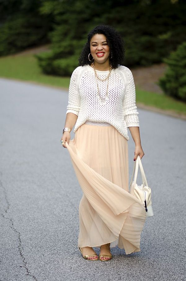 What Tops And Shoes To Wear with Long Skirts 2019