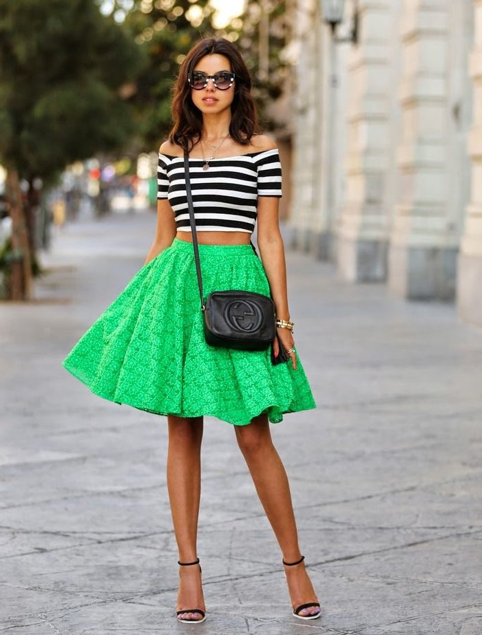 What Tops Can I Wear with Skater Skirts 2021