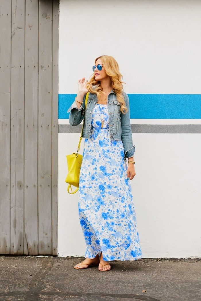 What Shoes can I Wear with a Maxi Dress Street Style (19)