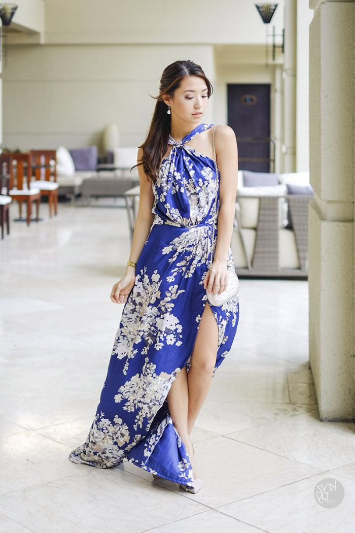 What Shoes can I Wear with a Maxi Dress Street Style (25)