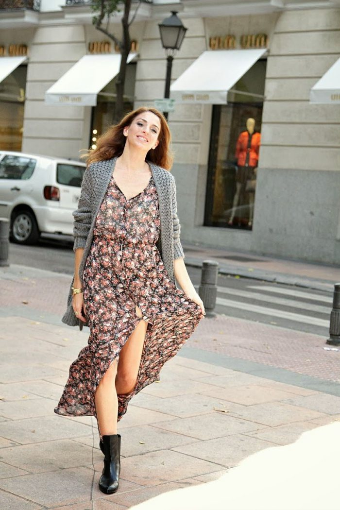 What Shoes can I Wear with a Maxi Dress Street Style (33)