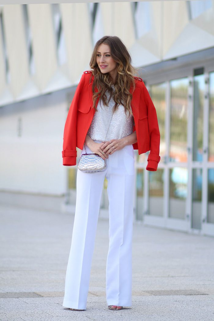 White Pants For Women Best Outfits To Wear Now (2)