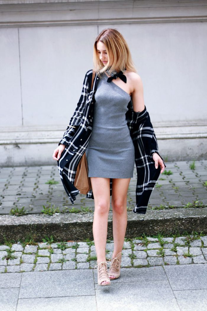 How To Wear Grey Dresses 2021