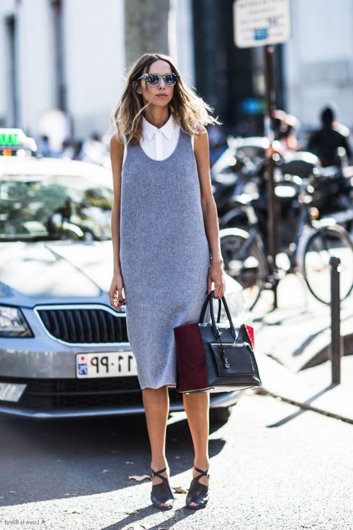 How To Wear Grey Dresses 2020