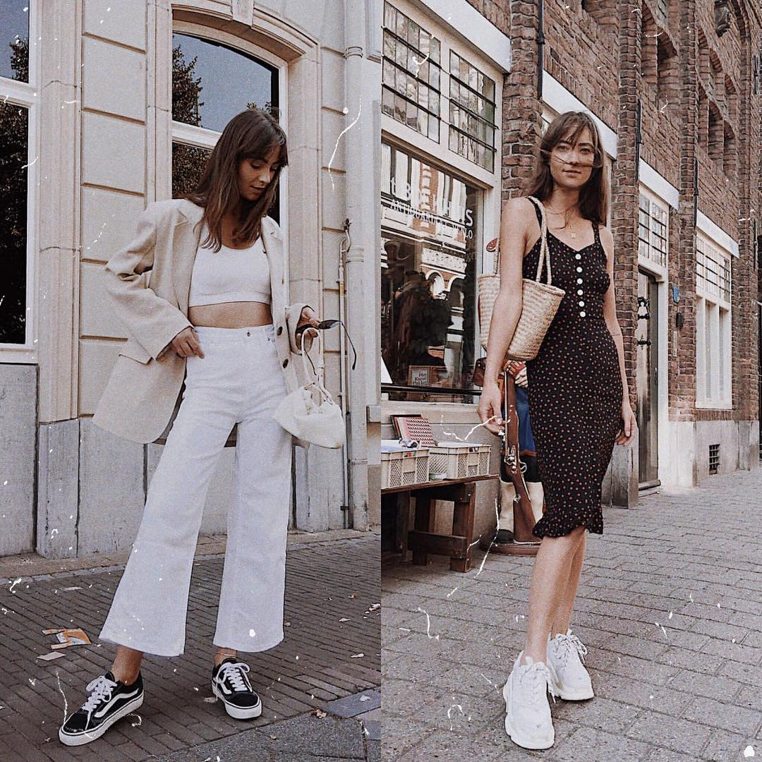 Sneakers Can Add Athleisure Touch To Any Look This Summer 2019