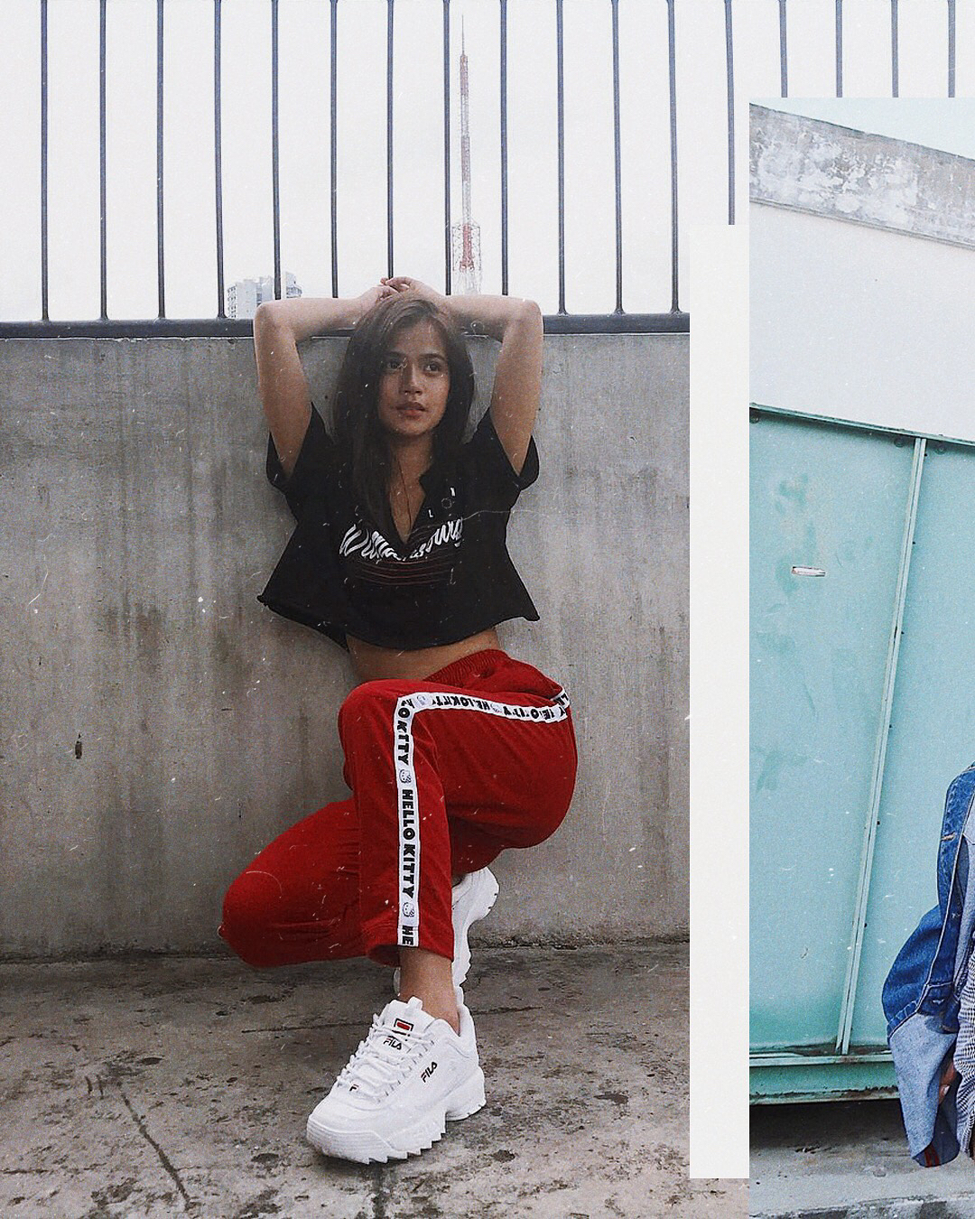 Crop Top, Joggers And White Sneakers For Summer 2020