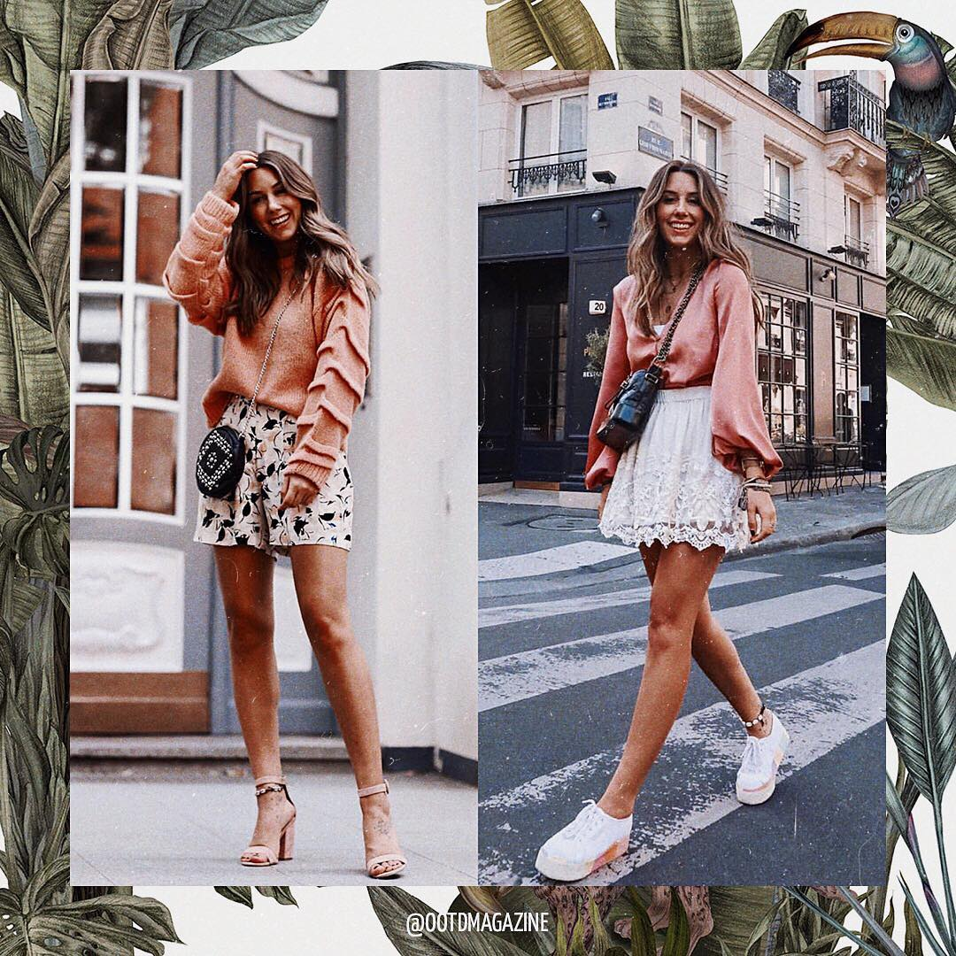 Oversized Top And Mini Bottoms: Summer Essentials 2020