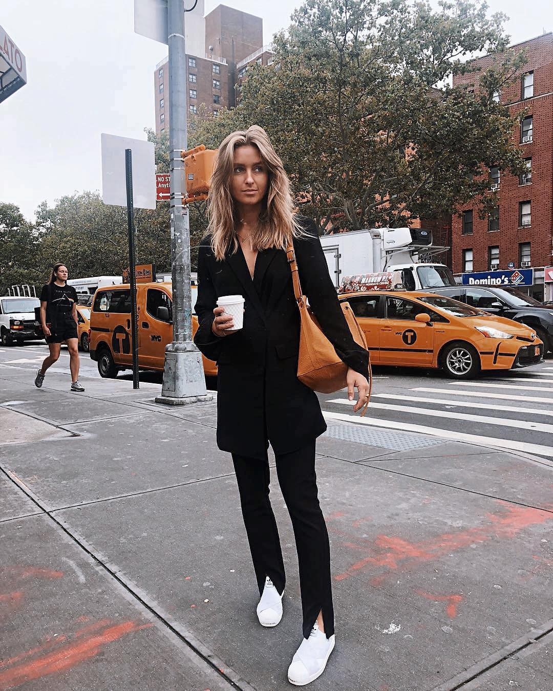 How To Wear Black Pantsuit This Fall 2019